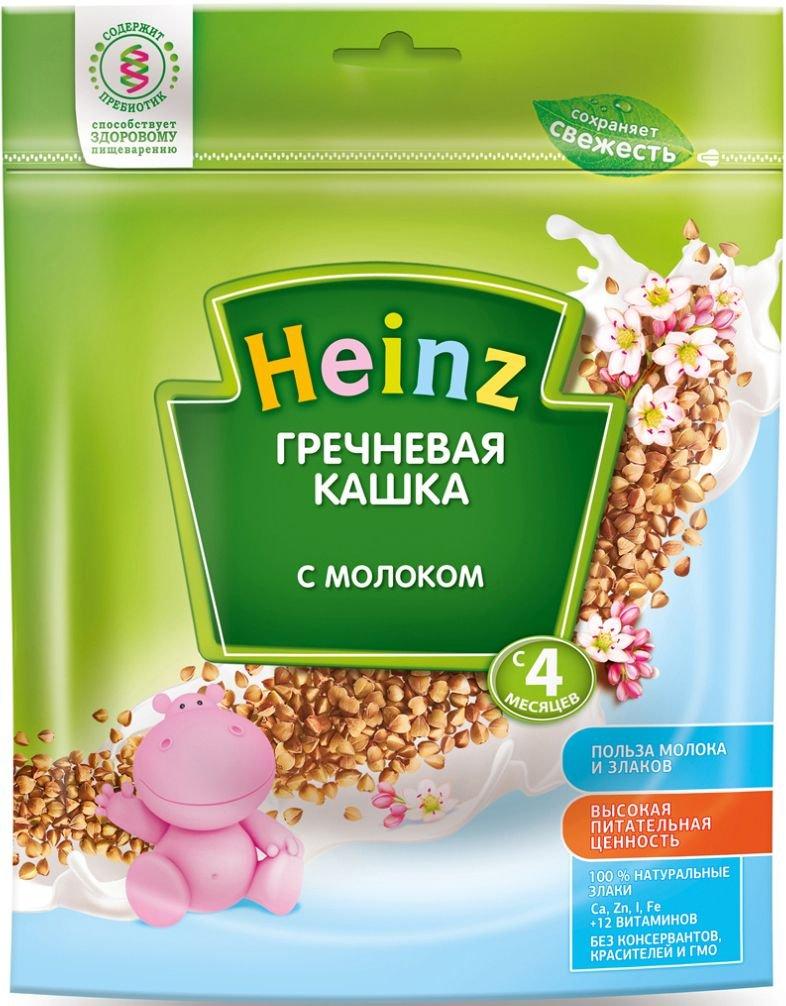 Каша Heinz молочная гречневая (с 4 месяцев) 250 г
