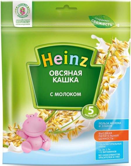 Каша Heinz молочная овсяная (с 5 месяцев) 250 г
