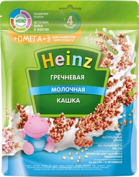 Каша Heinz молочная гречневая с Омега 3 (с 4 месяцев) 200 г