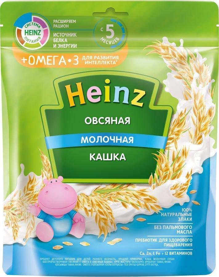 Каша Heinz молочная овсяная с Омега 3 (с 5 месяцев) 250 г
