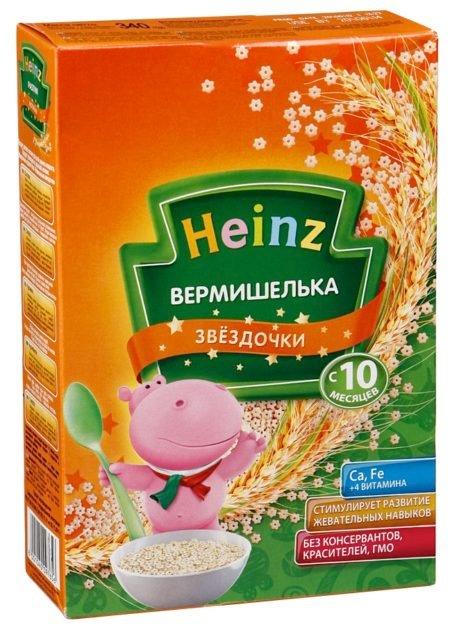 Heinz Макароны Вермишелька Звездочки (с 10мес.) 340 г