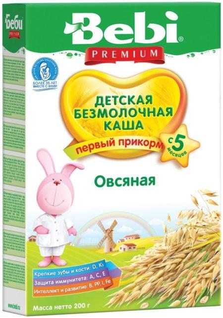 Bebi каша б/м овсяная    200 гр