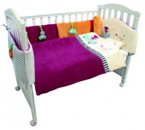 Qtot Deluxe Snuggle Baby Bedding Set