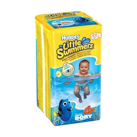 Huggies Подгузники для плавания Little Swimmers 2-3 (3-8 кг) 12 шт