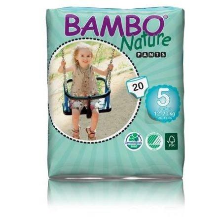 Bambo подгузники-трусики Nature 5 (12-20 кг) 20 шт.