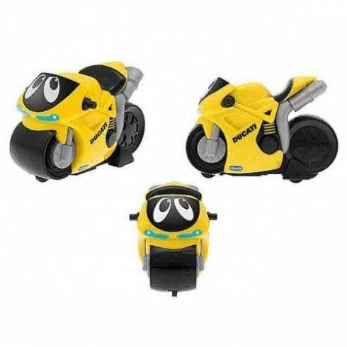 Chicco Турбо-мотоцикл Дукати желтый