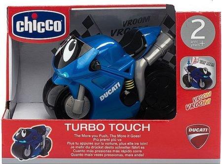 Chicco Турбо-мотоцикл Дукати синий