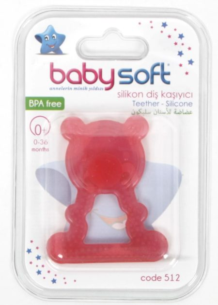Baby Soft 512 Силиконовый прорезыватель