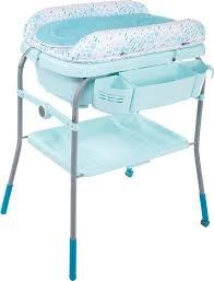 Chicco Пеленальный столик с ванночкой голубой