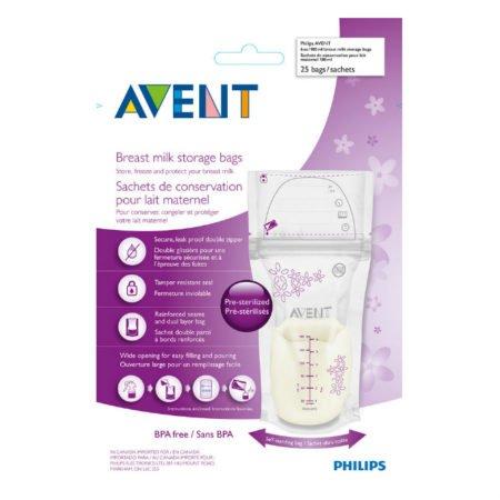 Avent 603/25 пакеты для хранения грудного молока 25 шт