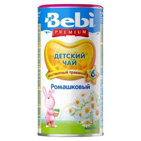 Bebi  детский чай ромашка  200 гр