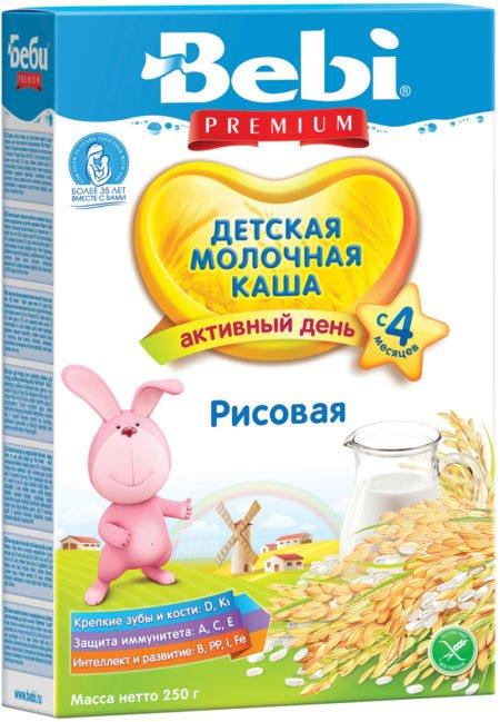 Bebi каша молоч рис    200 гр