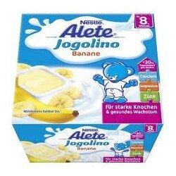 Alete  Жоголино банан 4*100 гр