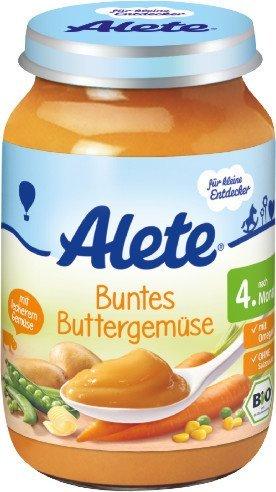 Alete пюре овощное со слив маслом  190 гр