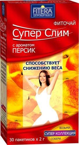 Fitera Супер слим персик 30 пак