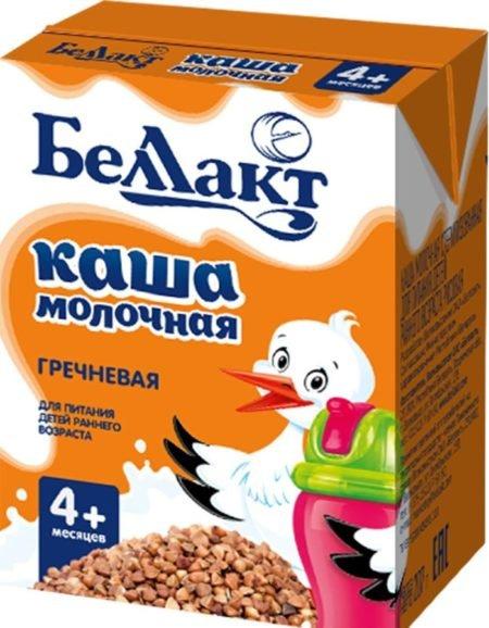 Беллакт каша молочная гречневая   200 гр