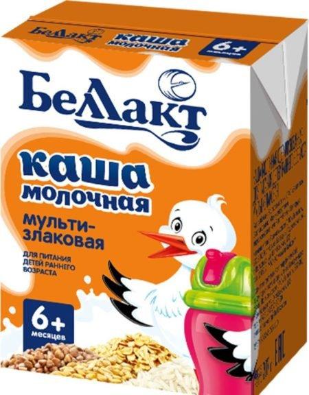 Беллакт каша молочная мультизлаковая 200 гр