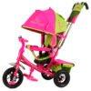 Трехколесный велосипед BA2GP розово желтый