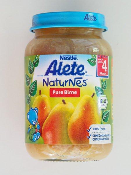 Alete пюре чистая груша  190 гр