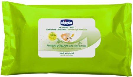 Салфетки защитные и освежающие Chicco Anti-Mosquito 20 шт
