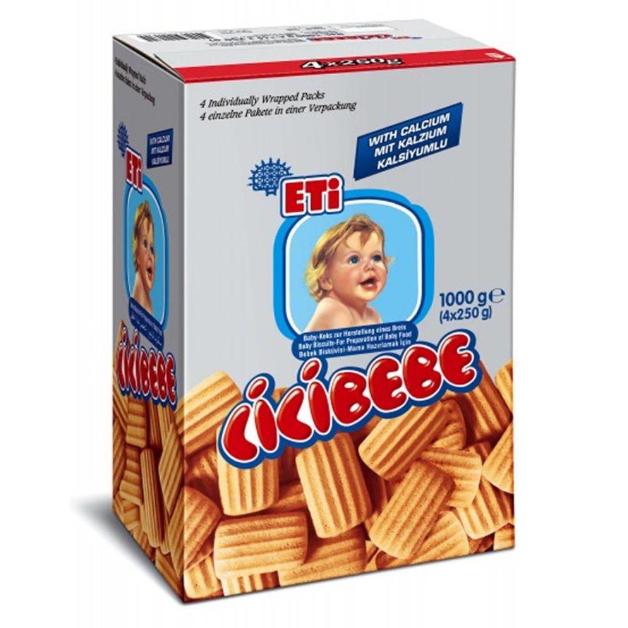 ETI Cicibebe  печенье  простые 1 кг