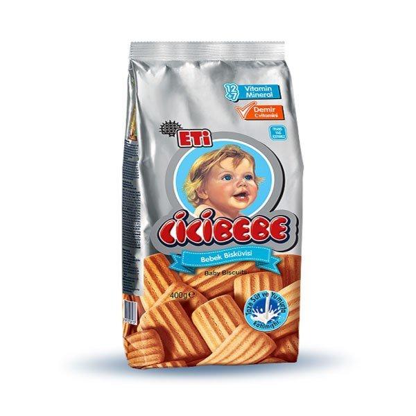 ETI Cicibebe  печенье  простые 400 гр