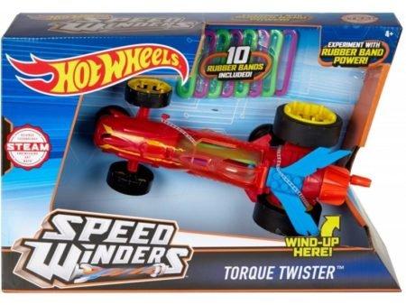 Hot Wheels — Самозатягивающийся Крутящий Момент Twister Red DPB65