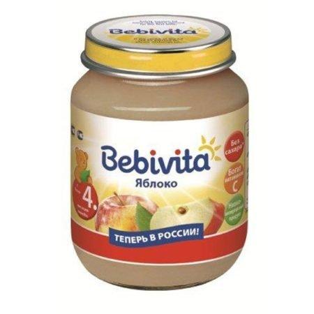 Bebivita пюре яблоко 100 гр
