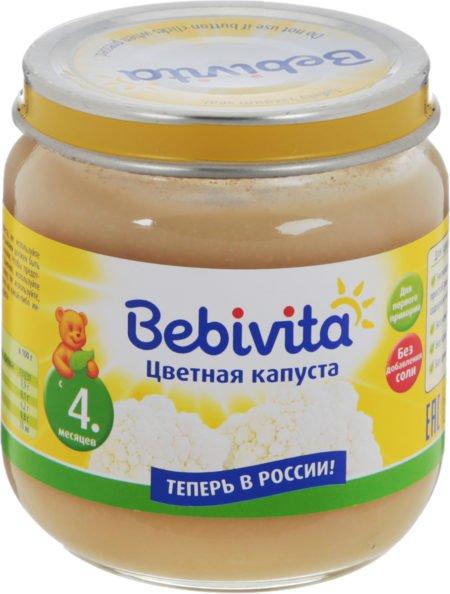 Bebivita цветная капуста 100 гр