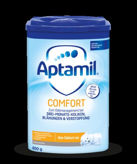 Сухая молочная смесь для новорожденных APTAMIL Pronutra COMFORT 800 г