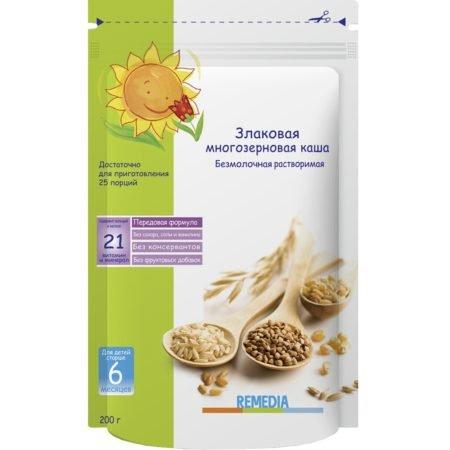 Remedia porridge Cereal multigrain, from 6 months, 200 g