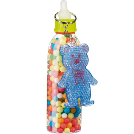 Gunz Babybottle with sugar pearls and toy 100 g
