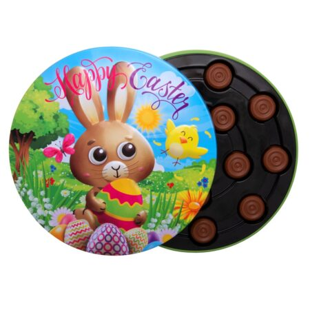 Gunz Easter tin with milk chocolate pralines 100 g