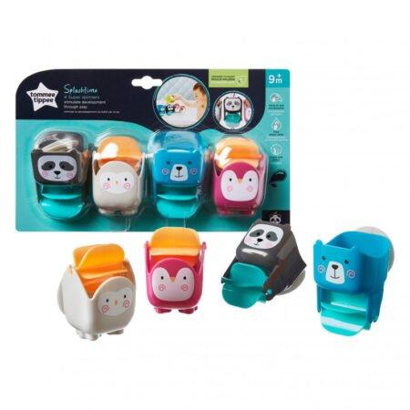 Tommee Tippee игрушка для ванны 9 месяцев (4 шт.)