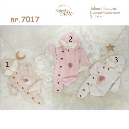 Baby Mio 7017 Комбинезон детский с капюшоном (3-18 месяцев)