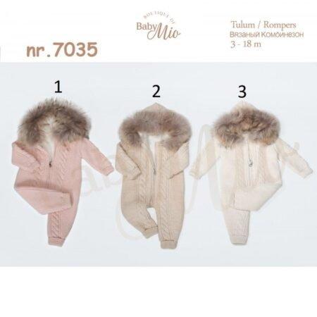 Baby Mio 7035 Комбинезон детский с капюшоном (3-18 месяцев)