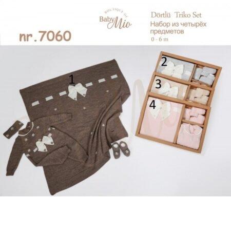 Baby Mio 7060 Комплект Для Новорождённых из 4 предметов (0-6 месяцев)