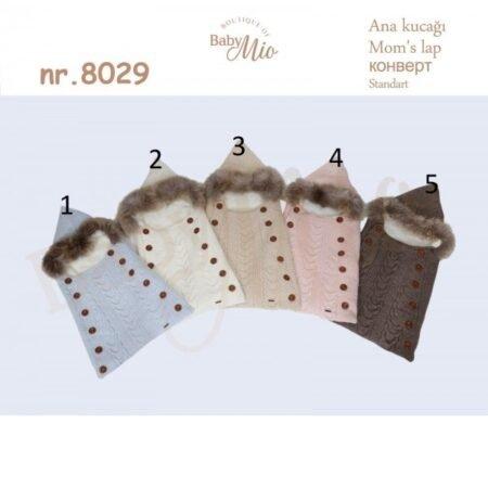 Baby Mio 8029 теплый конверты для новорожденных (0-3 месяцев)