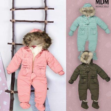MiDiMOD 18808 куртка для девочек 9-24 месяцев