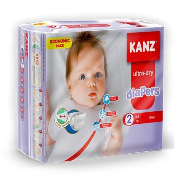 Kanz Ultra-Dry 2 (3-6 кг) 76 шт.