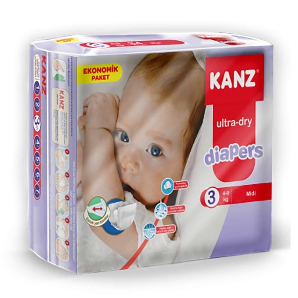 Kanz Ultra-Dry 3 (4-9 кг) 64 шт.