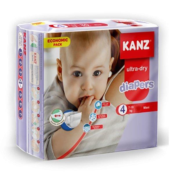 Kanz Ultra-Dry 4 (7-18 кг) 60 шт.